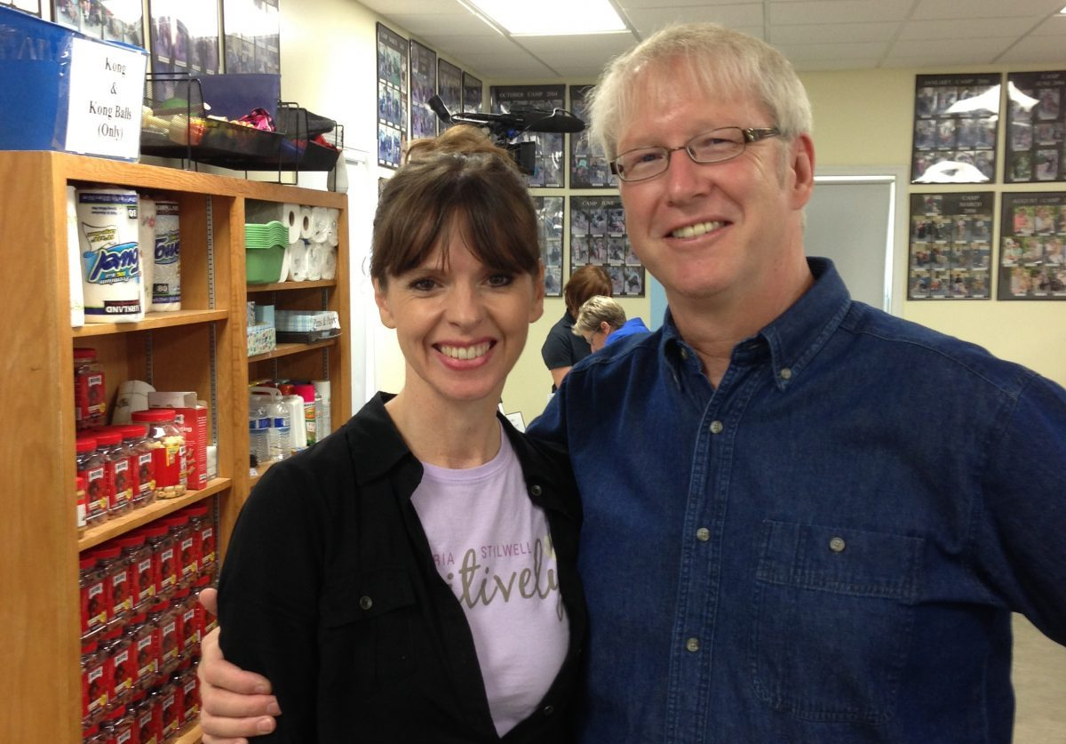 Victoria Stilwell and Dr. Marty Becker